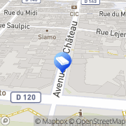 Carte de Comm'uniq Vincennes, France