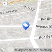 Carte de Pop-optimum Romainville, France