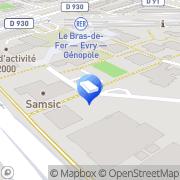 Carte de Le Nettoyage Industriel Évry, France