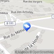 Carte de Bureau de vente Nexity Ormoy, France
