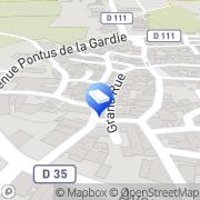 Carte de M.S Construction Laure-Minervois, France
