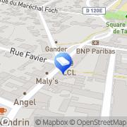 Carte de Agence de Bry Letang Bry-sur-Marne, France