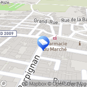 Carte de Imagerie Médicale Sigean, France