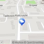 Mapa Zakład Energetyki Cieplnej Nidzica, Polska