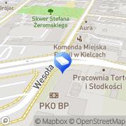 Mapa Gog Meble Kielce, Polska