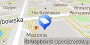 Mapa WeWork Warszawa, Polska