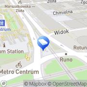 Mapa Solidex SA Warszawa, Polska