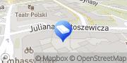 Mapa Konserwator Dzieł Sztuki Malarstwa Sztalugowego mgr Włodzimierz Kosowski Warszawa, Polska