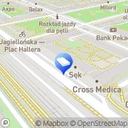 Mapa Goblin Games Warszawa, Polska