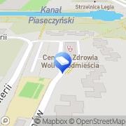 Mapa Pięta A. Kancelaria Warszawa, Polska