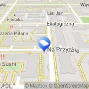 Mapa Multix Warszawa, Polska
