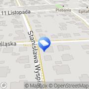 Mapa Transland sp.j. Ząbki, Polska