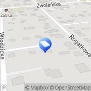 Mapa Solution One Sp. z o.o. Warszawa, Polska
