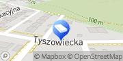 """Mapa Firma Produkcyjno-Handlowo-Usługowa """"Wortex-Bis"""" Piotr Borowski Warszawa, Polska"""