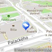 Map CANCOM GmbH Košice, Slovakia