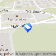 Kartta ISS Palvelut Oy Rauma, Suomi