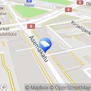 Kartta PT Kiinteistö Isokyrö Oy Vaasa, Suomi