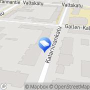 Kartta AH-Visiot Ky Pori, Suomi