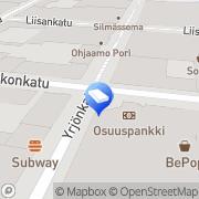 Kartta ISS Palvelut Oy Pori, Suomi