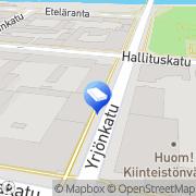 Kartta Tilitoimisto Nevalainen Oy Pori, Suomi