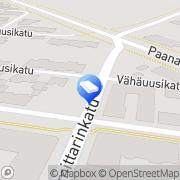 Kartta Herttua-Invest Oy Pori, Suomi