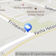 Kartta Ulvilan Koti-ikkuna Oy Ulvila, Suomi