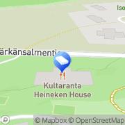 Kartta Kultaranta Golf Oy Naantali Naantali, Suomi