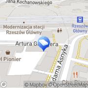 Mapa Demus Rzeszów, Polska