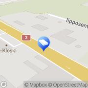 Kartta Kiinteistövälitys Mäkelä LKV Laihia, Suomi
