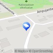 Kartta Kuljetusliike Pohjanmaan Kuorma-Autokeskus Oy Laihia, Suomi