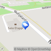 Kartta Naantalin kaupunki Nuhjalan päiväkoti Naantali, Suomi