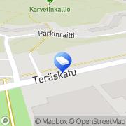 Kartta Sorsavirta-Kiinteistöt Oy Naantali, Suomi