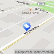 Kartta Mainostoimisto Saari Timo Harjavalta, Suomi