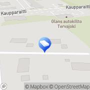Kartta Ajokoulutus Matti Aitola Tervajoki, Suomi