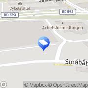 Karta Iptor IT Solutions AB Luleå, Sverige