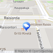 Kartta Lakiasiaintoimisto Maunula Anne Raisio, Suomi
