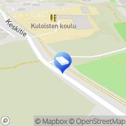 Kartta Raision kaupunki Kuloisten äitiysneuvola Raisio, Suomi