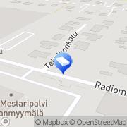 Kartta Pikku Kenguru Maahantuonti ja verkkokauppa Turku, Suomi