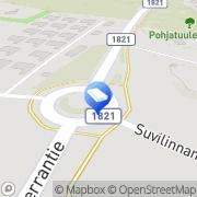 Kartta Erityisosaamiskeskus Suvituuli Turku, Suomi