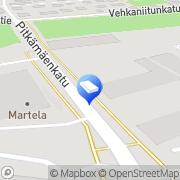 Kartta AIRIX Teollisuus Oy Turku, Suomi