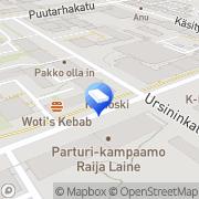 Kartta Kiinteistönvälitys Junkkala LKV Turku, Suomi