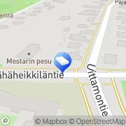 Kartta Verhoomo Eskola Turku, Suomi
