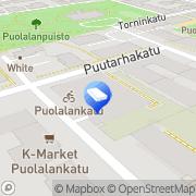 Kartta Turun kaupunki Kiinteistöliikelaitos Turku, Suomi