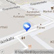 Kartta Fastighets Ab Åbo Antintalo Turku, Suomi