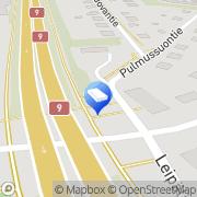 Kartta Verhoomo Linnèa Turku, Suomi