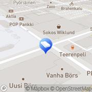 Kartta SOL Pesulapalvelut Oy Turku, Suomi