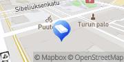 Kartta Varsinais-Suomen Isännöintitalo Oy Turku, Suomi