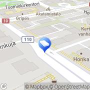 Kartta Lakiasiaintoimisto Birling Ky Turku, Suomi