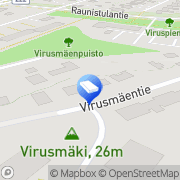 Kartta Iltavirkku Hoivapalvelut Turku, Suomi
