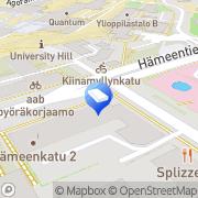 Kartta Turun Ajoauto Oy Turku, Suomi
